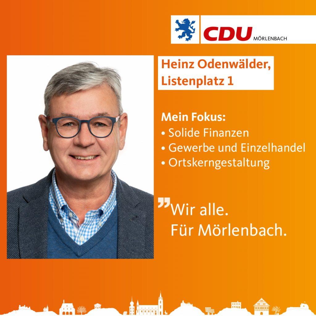 Heinz Odenwälder