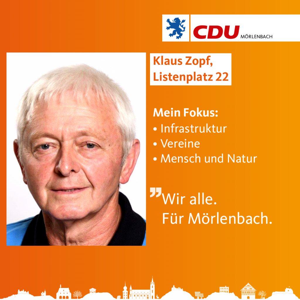 Klaus Zopf