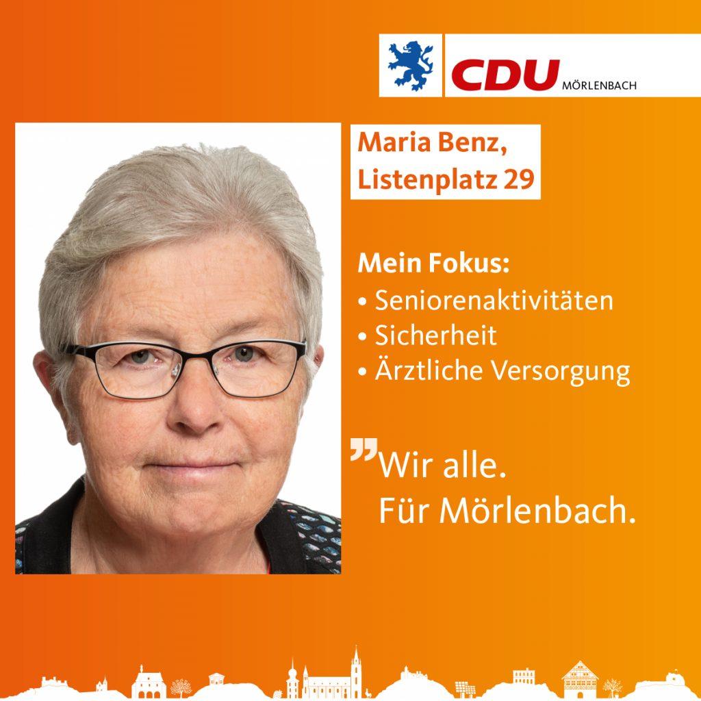 Maria Benz
