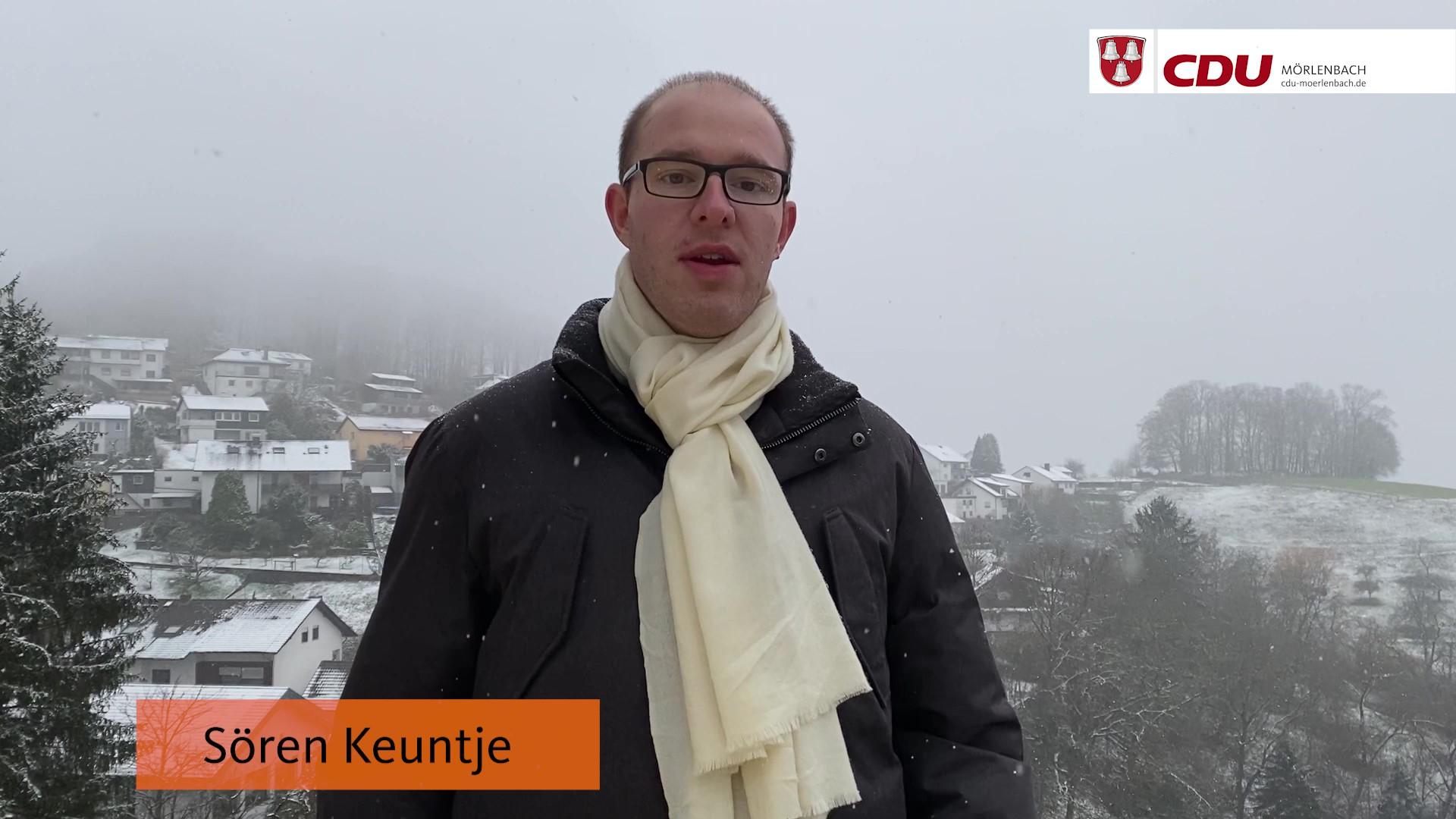 Kommunalwahl 2021 in Mörlenbach: Ihr Kandidat Sören Keuntje
