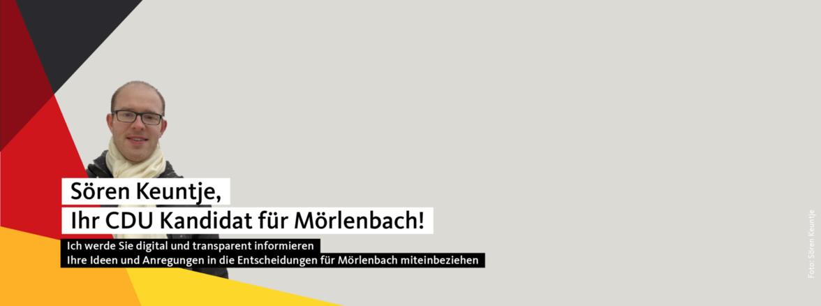 Sören Keuntje CDU Kandidat für Mörlenbach