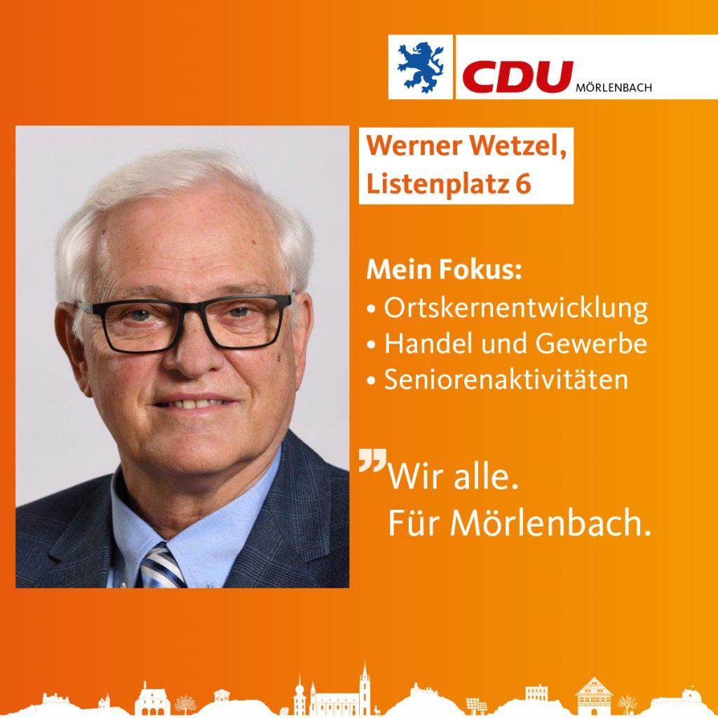 Werner Wetzel